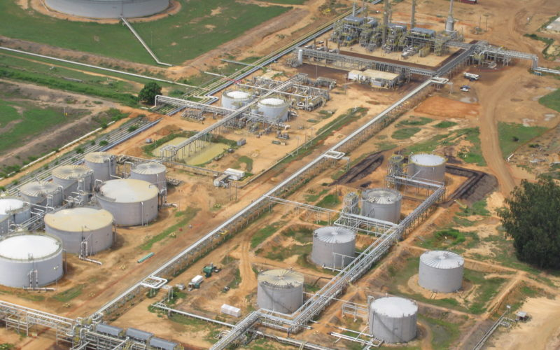 midstream engineering firm, process storage plant