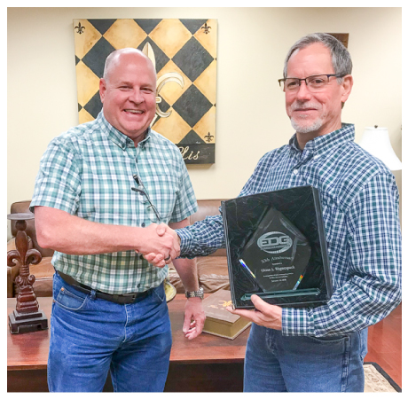 Glenn Waguespack - EDG Inc - 30 Years of Service